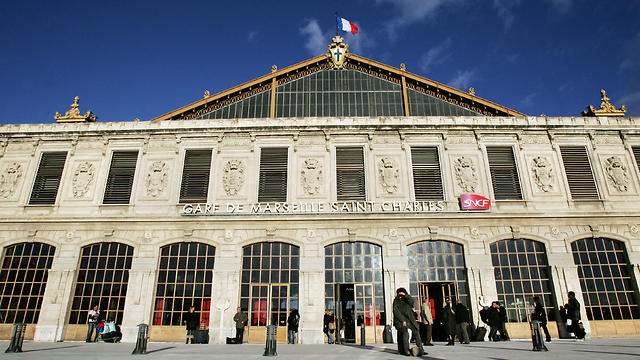 The Saint Charles train station in Marseille, where the attack took place (Photo: AFP)
