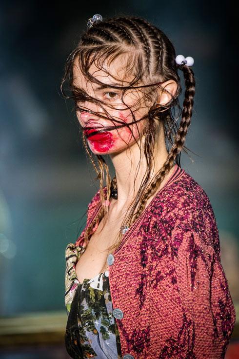 תצוגת אביב-קיץ 2018 של ויויאן ווסטווד בפריז (צילום: Gettyimages)