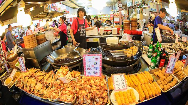 שוק אוכל בבירה טייפה (צילום: שאטרסטוק)