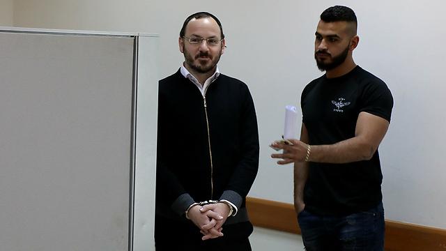 """החשוד שמואל אלישיב, מנכ""""ל העיתון (צילום: שאול גולן)"""