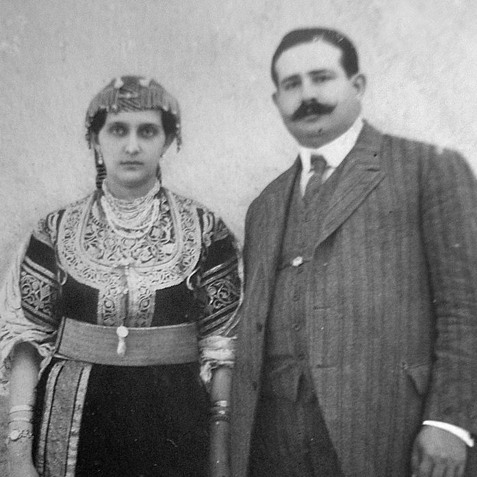 אורדוניה ואיזאק בן־שימול, סבא־רבא וסבתא־רבתא של אני בן־שימול. הגיעו לברזיל בסוף המאה ה־19
