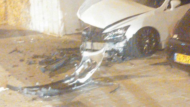 הנזק שנגרם למכוניתו של עורך הדין