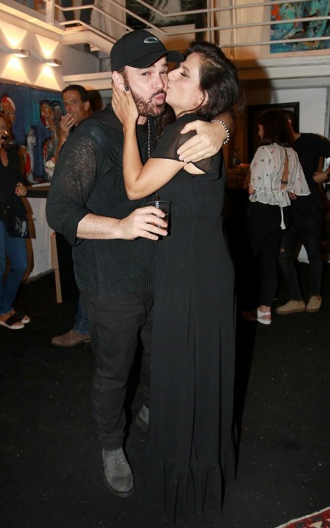 מלאת אהבה. מירי מסיקה ודוד ד'אור (צילום: ענת מוסברג)
