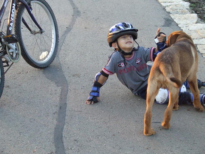"""איתמר ז""""ל. """"רוצה אח כלב ואח תינוק"""" (צילום: אלבום פרטי)"""