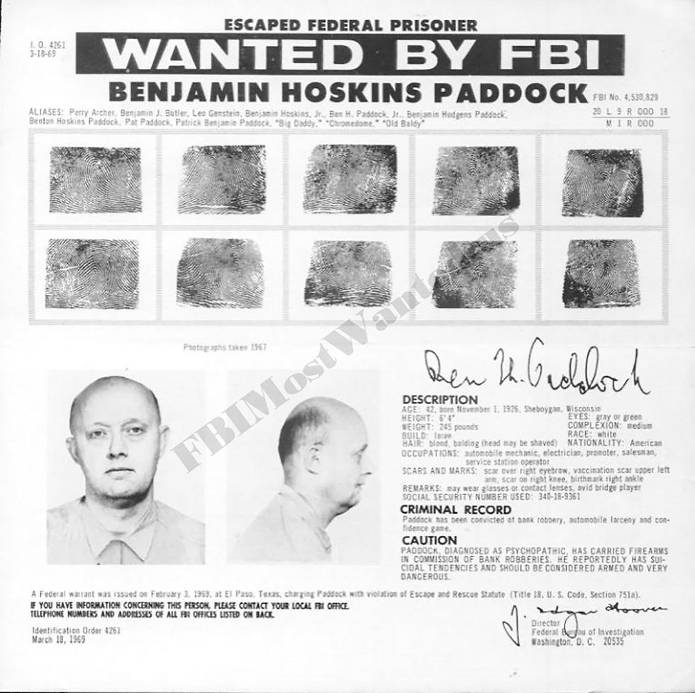 אביו של הרוצח מווגאס. נכלל ברשימת הנמלטים המבוקשים