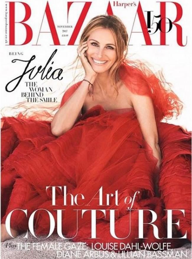 לנצח אישה יפה. ג'וליה רוברטס (אינסטגרם Harper's Bazaar UK)