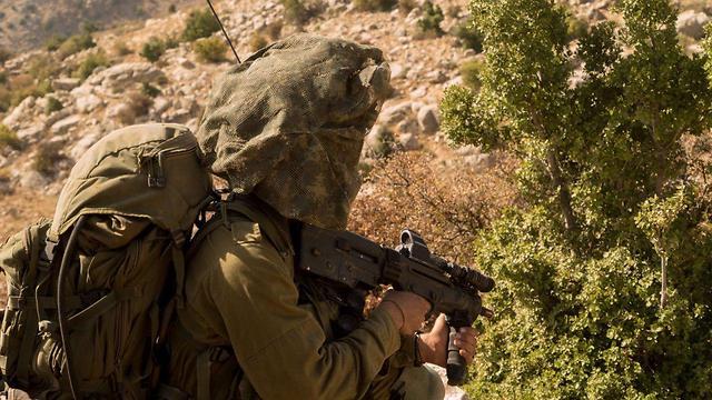 Egoz soldiers training (Photo: IDF Spokesman's Office)