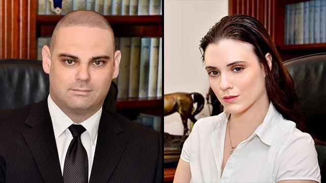 עורכי הדין רינת גלעד וזיו גלעד