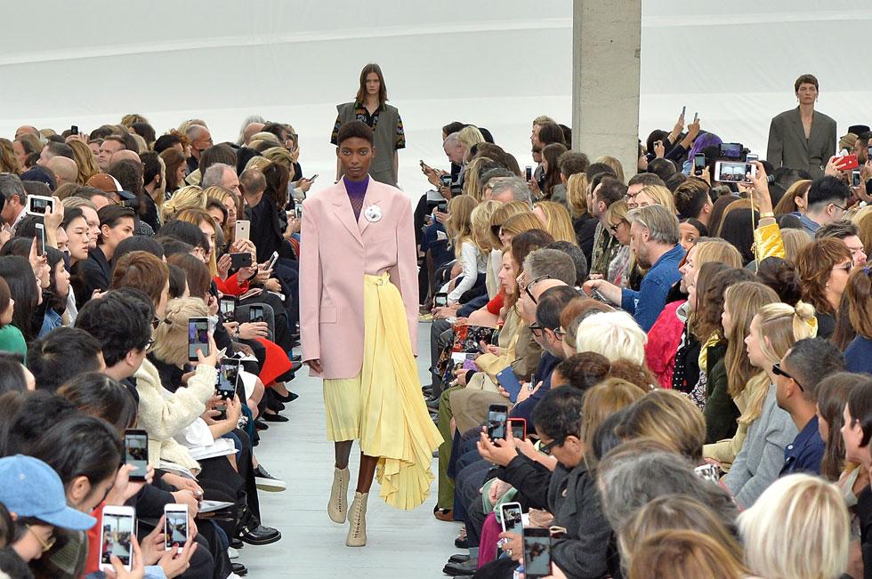 תצוגת האופנה של סלין (צילום: Gettyimages)