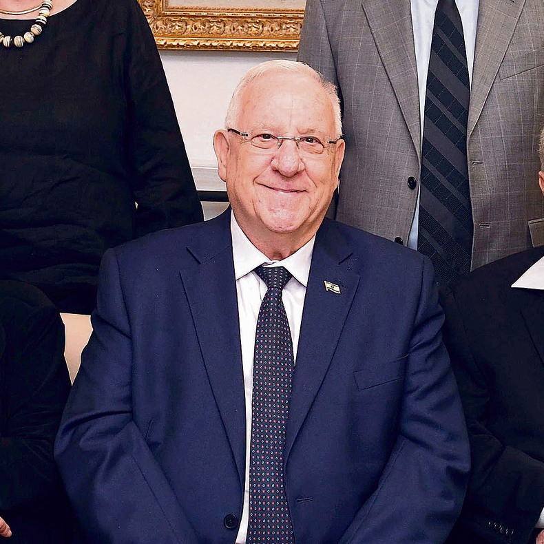 President Rivlin will open his home to all with the traditional 'open sukkah' (Photo: Mark Neyman)