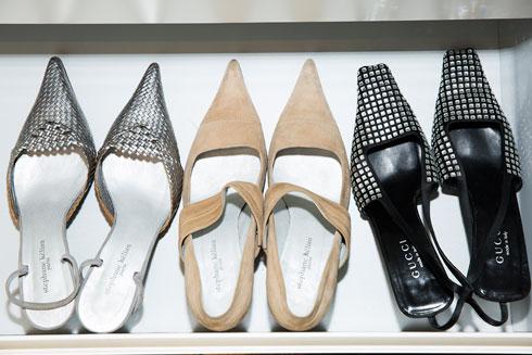"""""""עם נעליים טובות את יכולה גם להתלבש פשוט ולהיראות מדהים"""" (צילום: ענבל מרמרי)"""