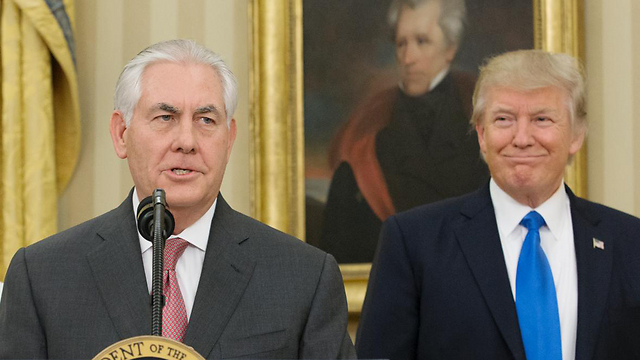 Secretary of State Rex Tillerson and President Donald Trump (Photo: Getty Images)