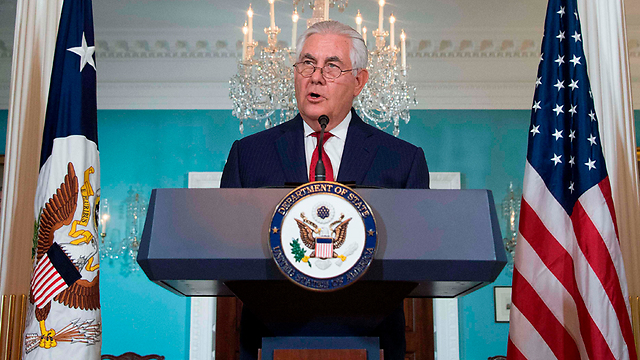 Secretary of State Tillerson refuted rumors of his impending resignation (Photo: AFP) (Photo: AFP)