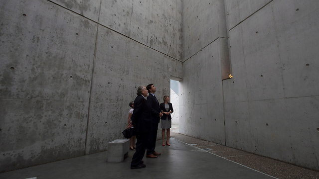 Trudeau at the memorial (AP, Adrian Wyld/The Canadian Press)