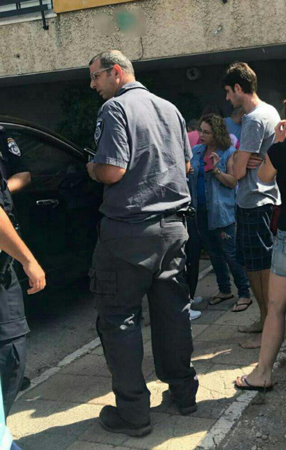 זירת האירוע (צילום: משטרת ישראל)