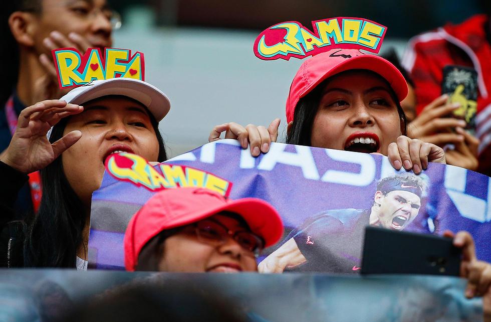 גם בסין אוהבים את רפא (צילום: EPA) (צילום: EPA)