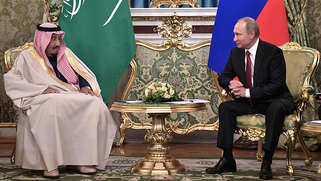 King Salman meets with President Putin (Photo: AFP) (Photo: AFP)