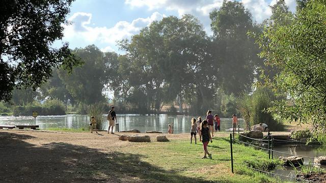 פארק תל אפק (צילום: גיא לוי)
