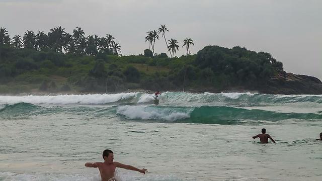 הגלים של סרי לנקה (צילום: אלון גרגו) (צילום: אלון גרגו)