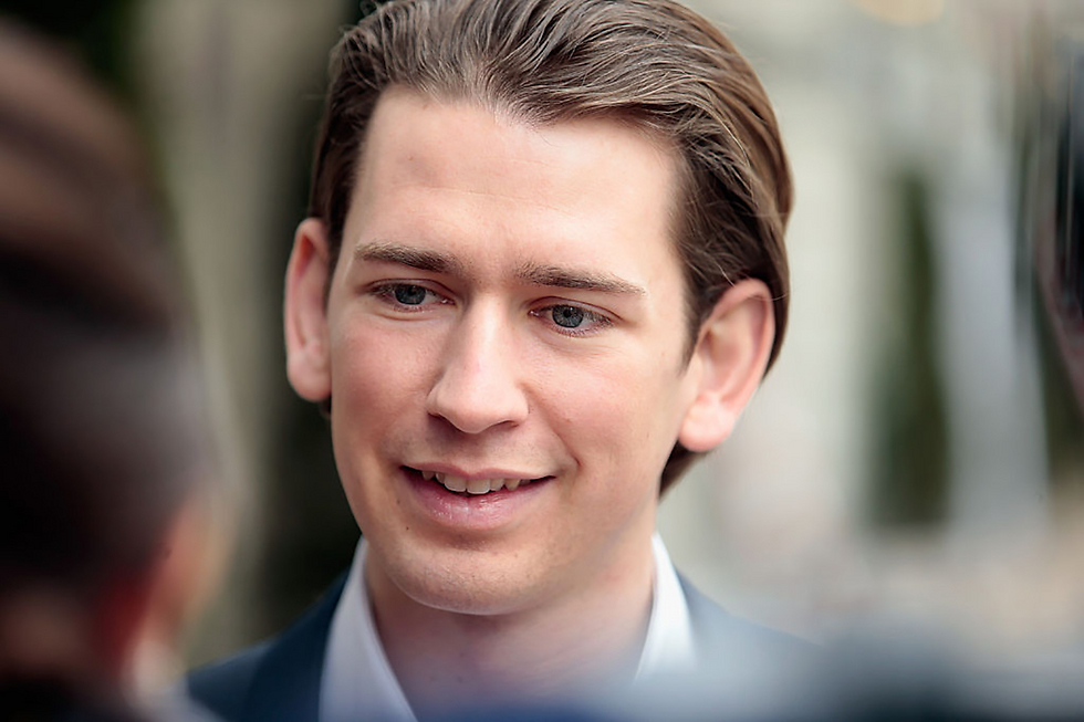 Kurz decided to form a coalition government with far-right Freedom Party (Photo: Getty Images)