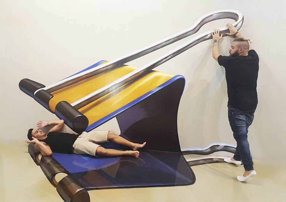 """Работы с выставки """"Trick Art"""" Фото: пресс-служба"""