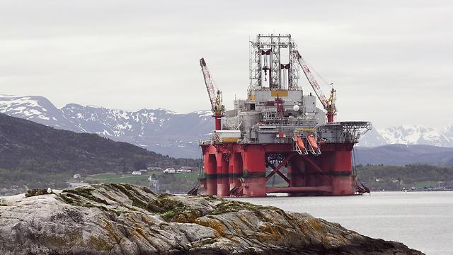 קידוח נפט בנורבגיה (צילום: shuttertock)
