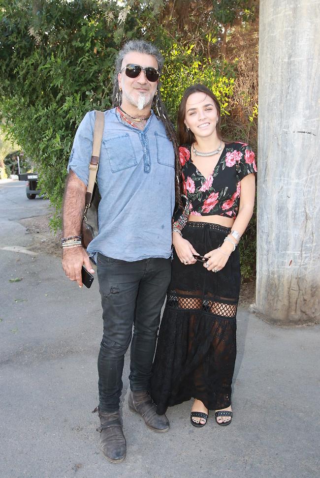 חזקים בזוגיות. מוש בן ארי וג'ני זבישה (צילום: ענת מוסברג)