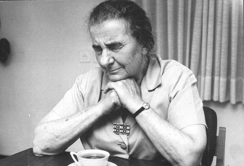 "Голда Меир. Фото: архив ""Едиот ахронот"""