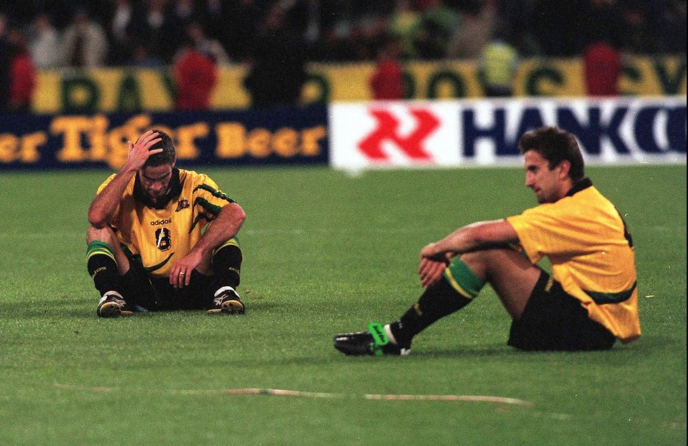 באוסטרליה לא שכחו את מפח הנפש מול איראן לפני 20 שנים (צילום: AP)