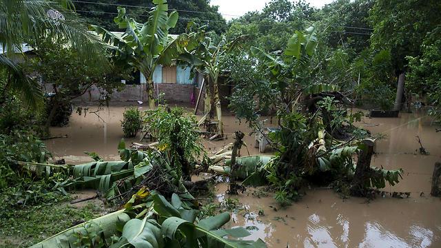 הוריקן נייט בניקרגואה (צילום: EPA) (צילום: EPA)
