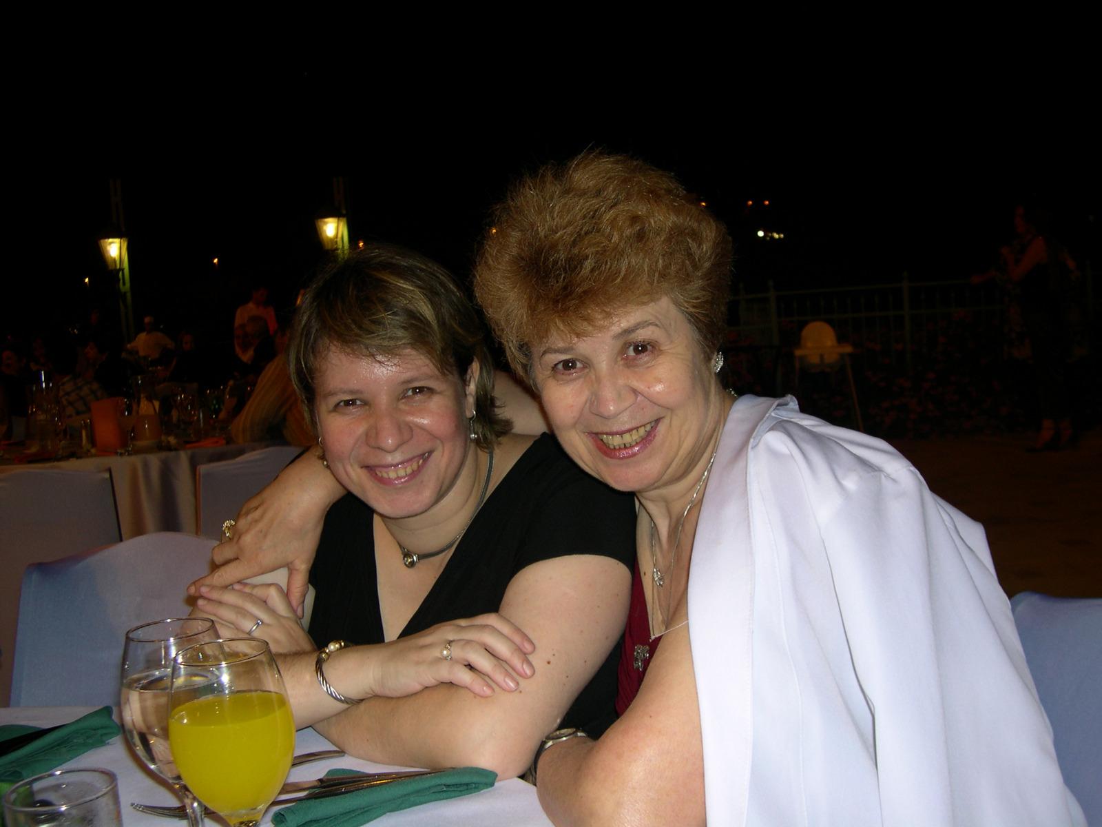 Ирис Горелик-Васильева с мамой Ниной. Фото из семейного архива