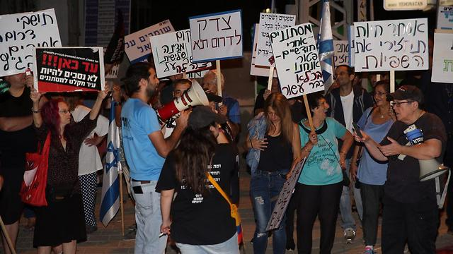 Refugees were dumped on south Tel Aviv residents, Klarman said (Photo: Motti Kimchi)