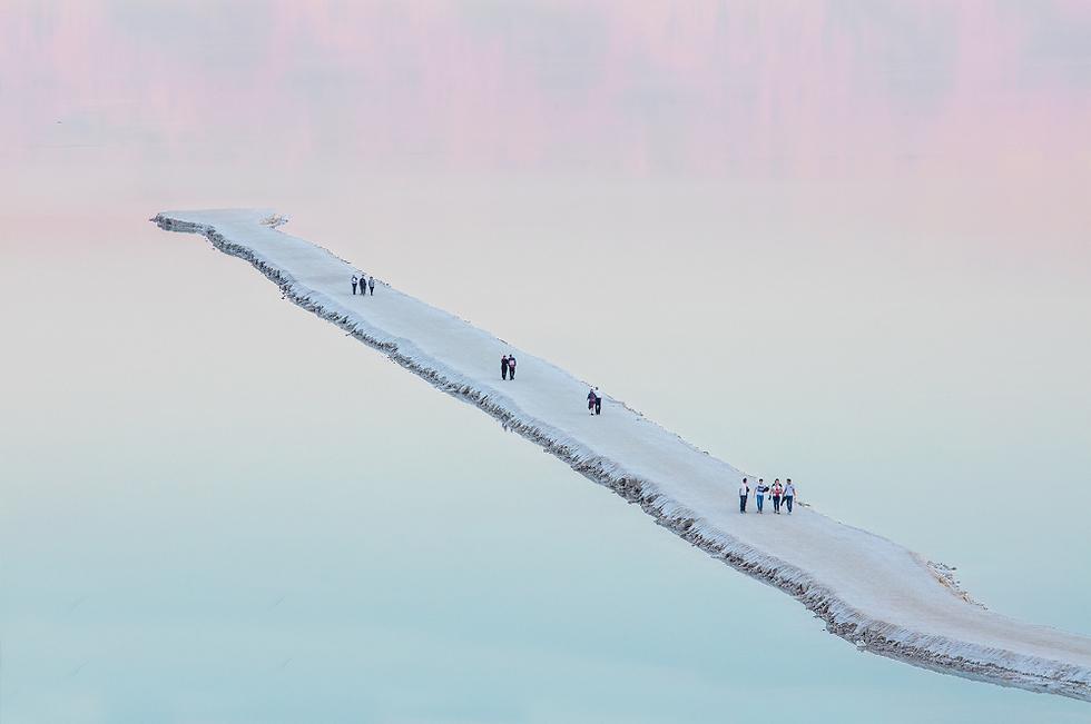 ים המלח, הצילום הזוכה של אביעד בר-נס (צילום: אביעד בר נס)