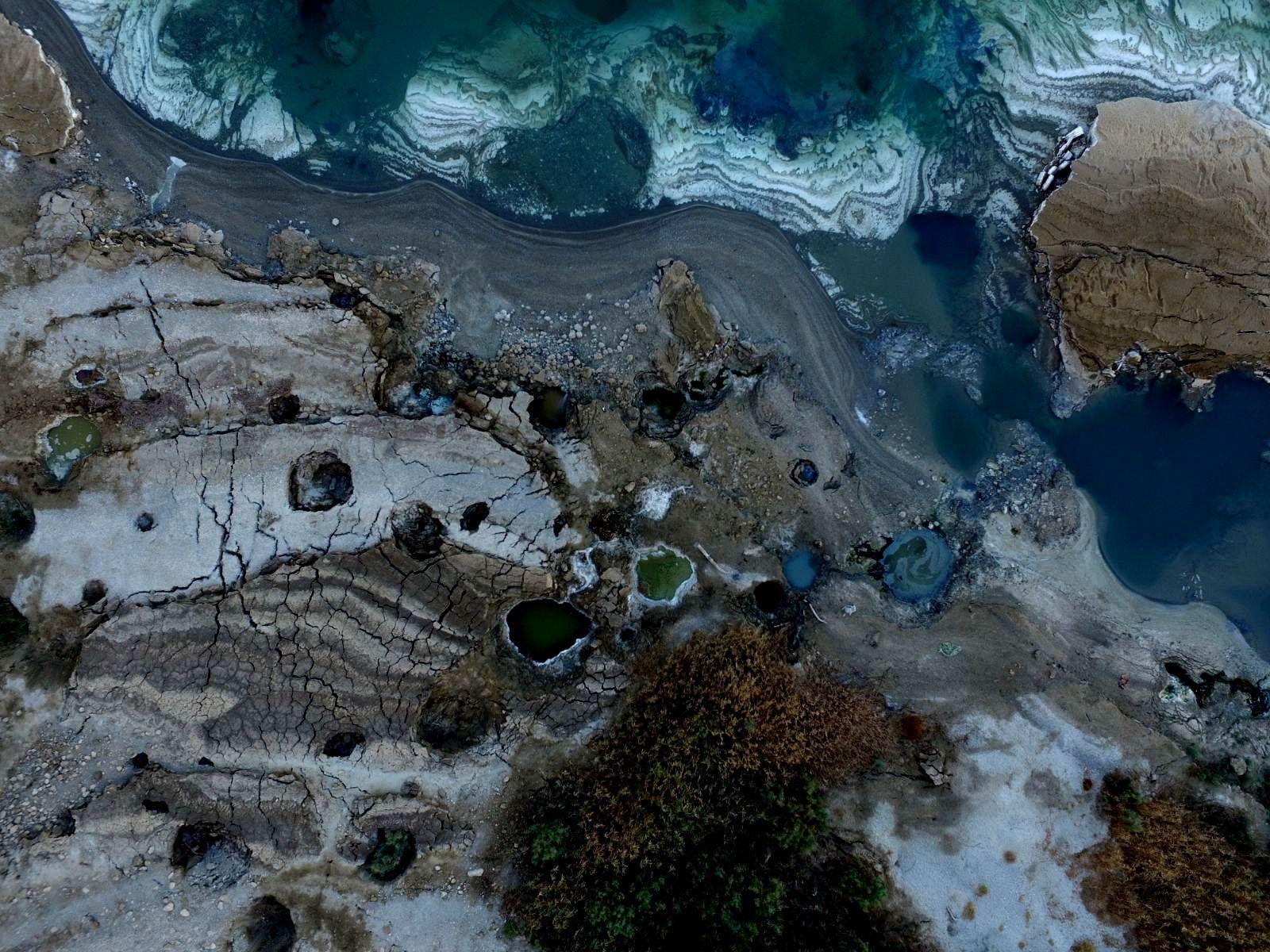 ים המלח מזווית אחרת: צילומי הרחפן של האחים דרור (צילום: עומר דרור וניצן דרור)
