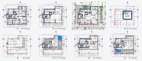 תוכניות הדירות בבניין החדש (תוכנית: מתוך archive-binyan.tel-aviv.gov.il)