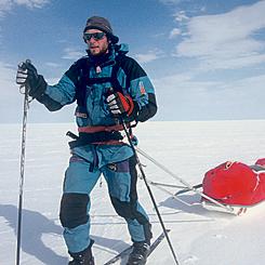 חציית כיפת הקרח בגרינלנד