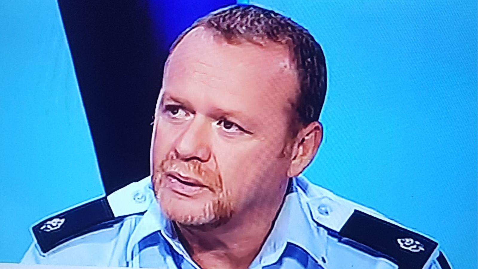 Михаэль Зингерман. Фото: пресс-служба полиции