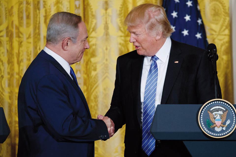 Биньямин Нетаниягу и Дональд Трамп. Фото: Evan Vucci