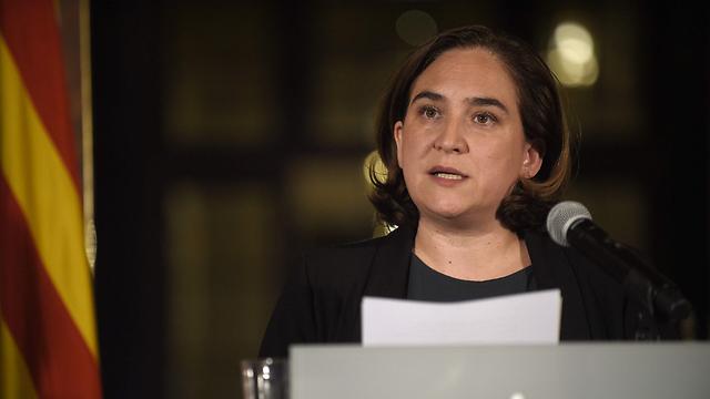 """""""התוצאות אינן יכולות לבסס הכרזת עצמאות"""". ראש העיר ברצלונה אדה קולאו (צילום: AFP)"""