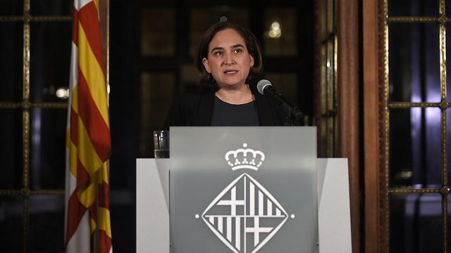 מאשימה את ממשלת ספרד יחד עם נשיא קטלוניה (צילום: AFP)