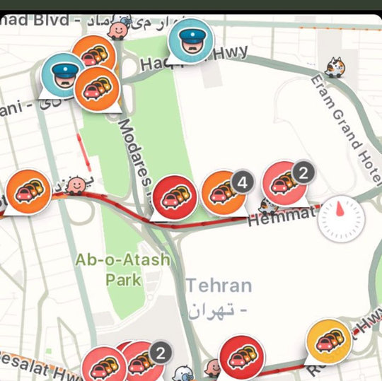 Navigation app Waze to soon be permanently blocked in Iran