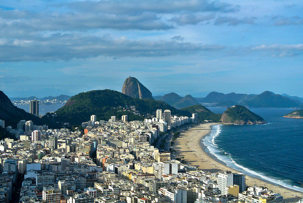 קופה קבנה בריו דה ז'נרו (צילום: אסף הייליג) (צילום: אסף הייליג)