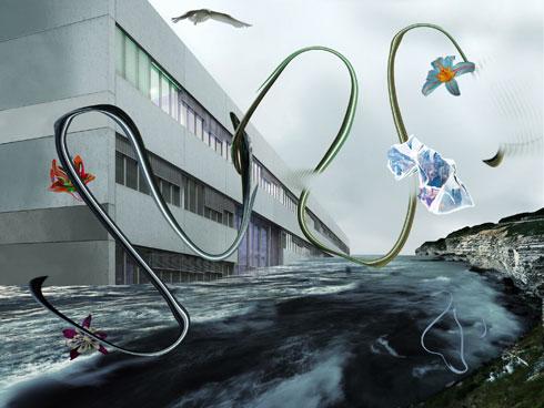 סוריאליזם בין מים לשמיים. מעבודותיה של האמנית אלה גורנר (צילום: סטודיו אדידס)