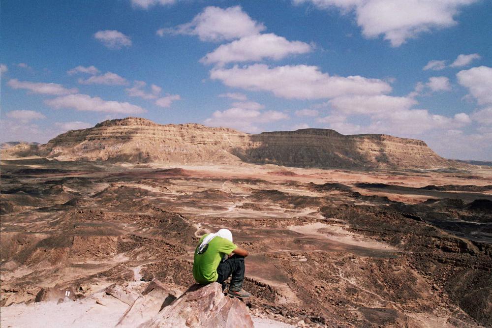 דרך מעלה העקרבים (צילום: תומר אריאל)
