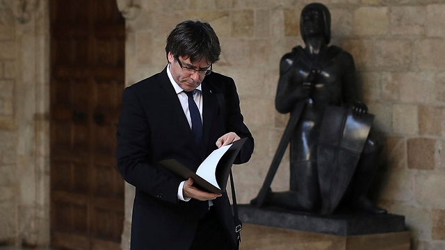 Catalonia President Carles Puigdemont  (Photo: AP)