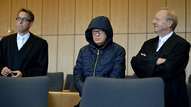 Mauss and his lawyers (Photo: Getty Images)