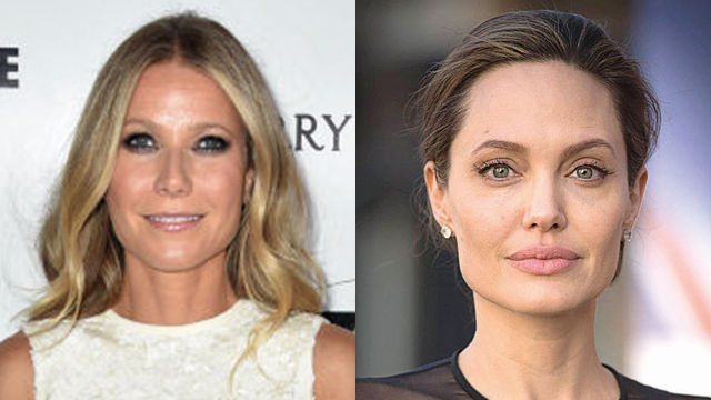 Actors Gwyneth Paltrow (L) and Angelina Jolie, both of whom have come forth with sexual misconduct accusations against Harvey Weinstein (Photo: Getty Images)
