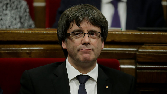 Catalonia President Puigdemont, whom the Spanish government has officially removed from office (Photo: AP)
