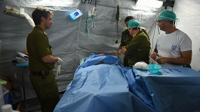 Underground military field hospital (Photo: Spokesperson's Unit)