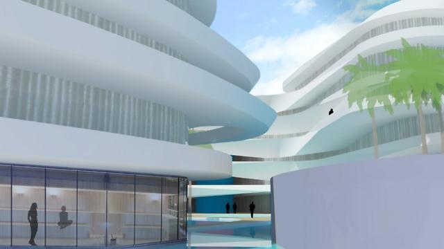 (הדמיה: משרד רני זיס אדריכלים) (הדמיה: משרד רני זיס אדריכלים)